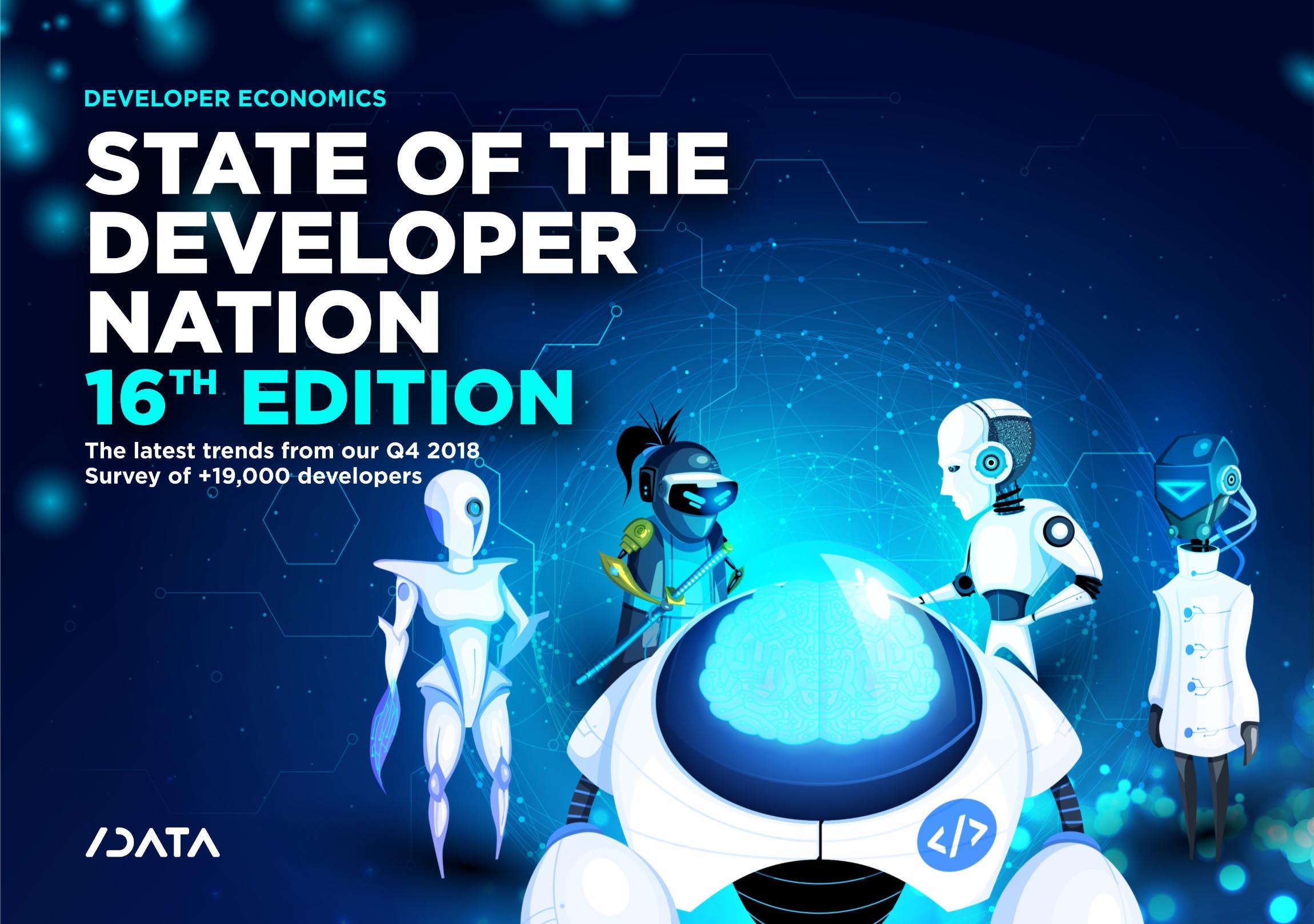 Developer Economics: State of the Developer Nation 16th Edition