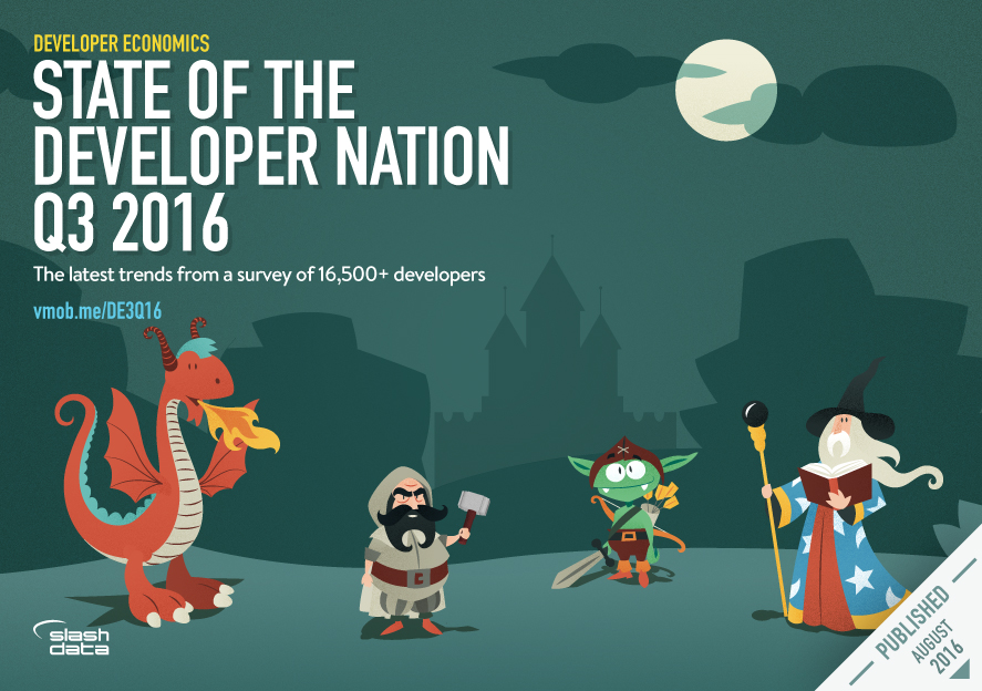 Developer Economics: The State of the Developer Nation Q3 2016